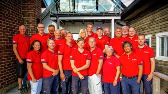 Frivilliga sjöräddare på RS Råå
