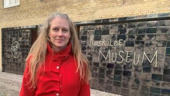 Som museumsinspektør er Dorthe Godsk Larsen en nøgleperson i udviklingen af Roskilde Museum. Foto: ROMU