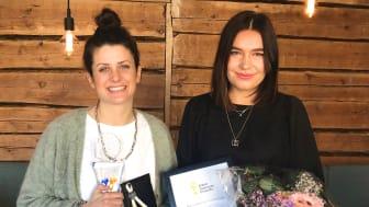 Lisa Hellmér och My Bergström är Årets Småföretagare