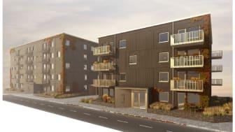 Stena Fastigheter ökar fokus på nyproduktion av lägenheter