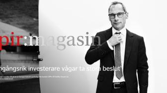 """SPPs vd Staffan Hansén """"En framgångsrik investerare vågar ta stora beslut"""""""
