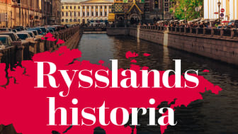 Ryssland först ut i den nya  bokserien Världens länder