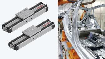 Bosch Rexroths nya kompaktmodul CKK är tålig mot både svetsloppor och spånor.