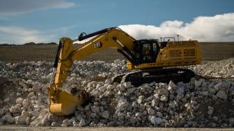 Nu kommer tungviktarna i Next Generation: Caterpillar lanserar grävmaskinerna Cat 352, Cat 374 och Cat 395