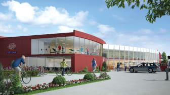 Fortsatt utveckling av Campus Ultuna i Uppsala när Friskis&Svettis växer