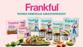 Orkla Suomi tuo texmex-hyllyyn uuden ilmastofiksun ja vegaanisen Frankful-brändin