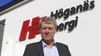 Benny Ulmestig, vd på Höganäs Energi, glädjer sig åt topplaceringarna i undersökningarna.