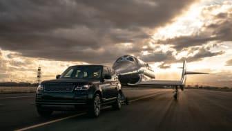 Range Rover Astronaut Edition støtter avdukingen av Virgin Galactics nye romskip VSS Imagine