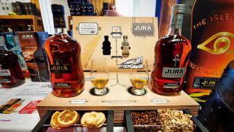 Scandlines' Whisky & Festival im BorderShop Puttgarden