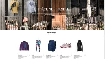 Nordiska kompaniet öppnar e-handel i samarbete med Avensia