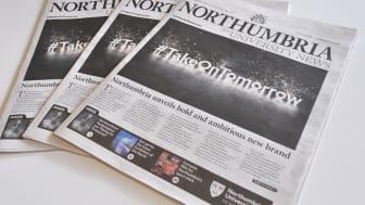 The latest edition of Northumbria University News