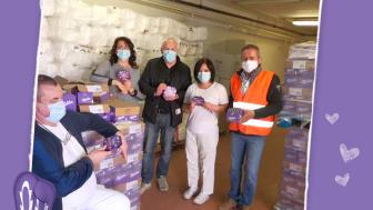 Mondelēz International daruje Slovenskému Červenému krížu a Potravinovej banke Slovenska
