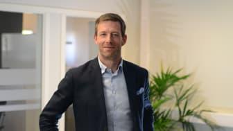 Niklas Thulin, Head of Digital på Aareon Nordic, ansvarar för den digital utvecklingen av produkter och tjänster hos Aareon Nordic, en av branschens ledande leverantörer av fastighetssystem