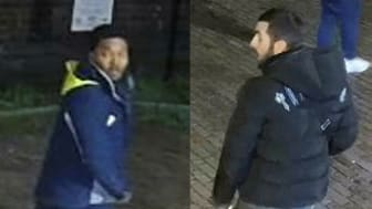 [Can you help police identify these two men?]
