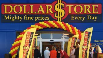 Butiksöppning på DollarStore © 2018, Ahlberg-Dollarstore AB