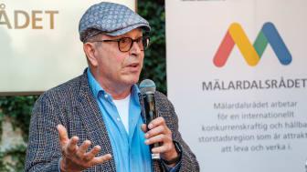Journalisten och TV4:s tidigare VD Jan Scherman har utsetts till Årets Mälardarling 2019. Foto: Göran Johansson, Frilansfotograferna.