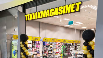 Teknikmagasinet satsar på flagship store i Mall of Scandinavia