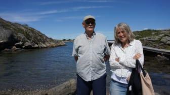 Sture Karlsson och Margareta Wicander