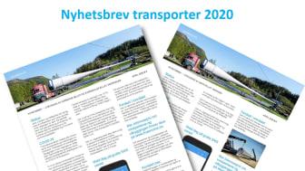 Nyhetsbrev om transporter 2020