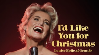 """Louise Boije af Gennäs skivdebuterar med singeln """"I'd like you for Christmas"""" – och skänker samtliga intäkter till sjuksköterskor som arbetar med covid-19"""