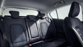Ny Ford Focus Active bagsæder