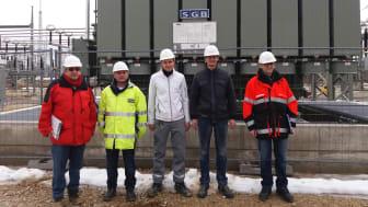 Schaltfeld und Trafo für NaturStromNetze Franken in Rekordtempo vom Bayernwerk