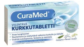 CuraMed-uutuustuote tuo helpotusta tukkoiseen oloon