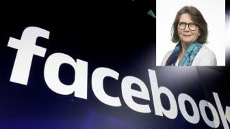 KASTET UT: – Facebook har bukten og alle endene av den offentligheten de har skapt. Da er det desto viktigere at andre som bruker denne offentligheten er klar over hvordan de utøver sin makt over ordskiftet vårt, skriver Guri Hjeltnes ved HL-senteret