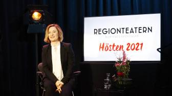 Länk till Regionteatern Blekinge Kronobergs presskonferens - höstens utbud 2021