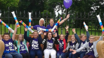 Survivors take a Step Out for Stroke in St Helens