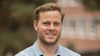 Arvid Guterstam, mottagare av Svenska Läkaresällskapets pris för bästa vetenskapliga ansökan