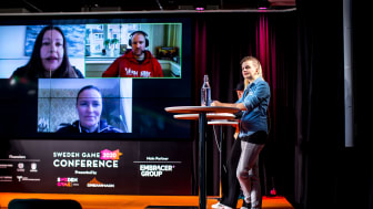 Last year's edition of Sweden Game Conference.