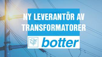 Ny leverantör av transformatorer