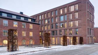 Hållbarhetshuset på KTH. Foto: Peder Lindbom, AIX Arkitekter.