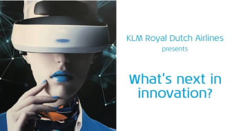 KLM Royal Dutch Airlines presents What's next in innovation?
