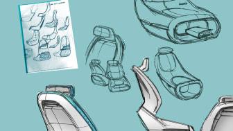 Sketch seats doodles