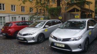 Nye bilpool plasser på Bislett