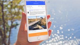 CoBoats - Uppdaterad och bättre app för att förebygga stölder