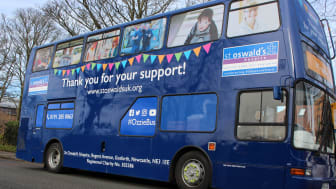 Hospice 'shop on wheels' hits the region's roads after Go North East donates bus to support charity's £7.5m fundraising goal