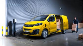 Nya Opel Vivaro-e