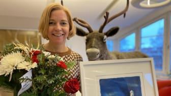 Karin Bodin utsedd till Årets ledare i Norrbotten 2020
