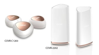 New D-Link products to cover your home in seamless Wi-Fi. COVR-C1203 (AC1200) and COVR-2202 (AC2200).