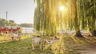 Lichtenberg, Rummelsburger See, Fläche vor der Ostbloc Boulderhalle © visitBerlin, Foto:  Dagmar Schwelle  OBS: Videre bruk av bildet ikke tillat!