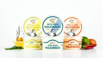 Nyhet! Eriks® lanserar färska majonnäser
