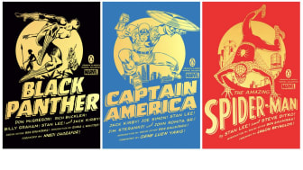 Images from Penguin Random House's Penguin Classics Marvel Collection website
