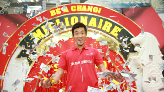 Singapore-based Japanese engineer wins S$1 million at Changi Airport