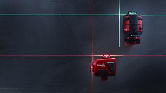 Hultafors utvider sitt laser sortiment