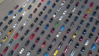Verdens største Mustang-parade