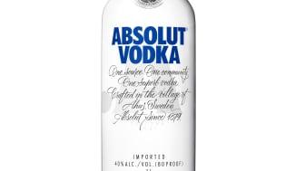 Absolut lager igjen et ikon for fremtiden med nytt flaskedesign