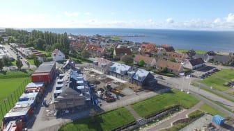 BRF Brisen utanför Landskrona erbjuder lösningar för smarta hem från Somfy.